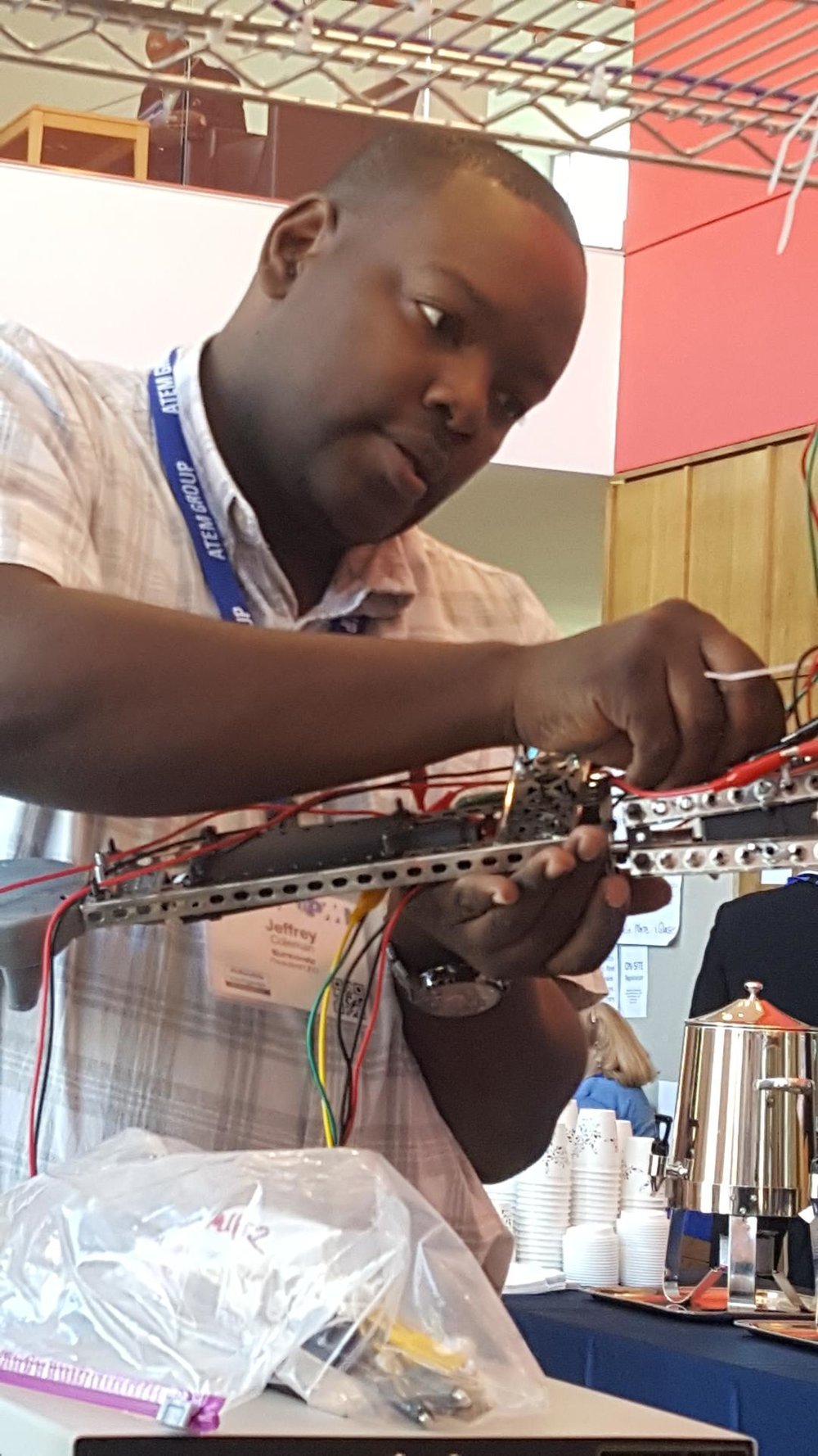 Putting In Work: Assembling Robot Demo at 2016 PMI Symposium