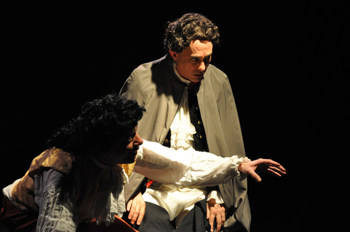 AMADEUS as performed at The Greenbelt Theater in 2009. PHOTO: RAOUL DENNIS  // PRINCE GEORGE'S SUITE MAGAZINE & MEDIA