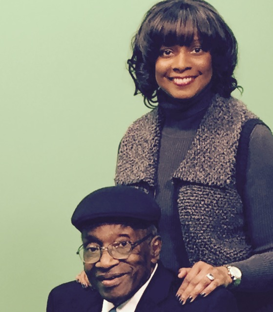 Ed Brown with Kamaria Richmond.