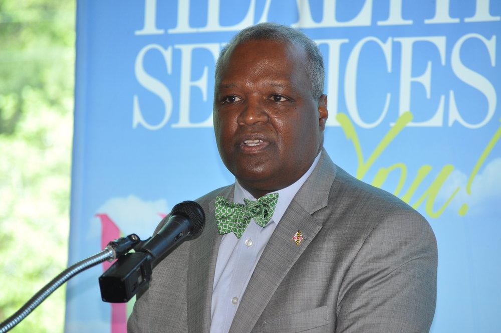 Prince George's County Executive Rushern L. Baker III