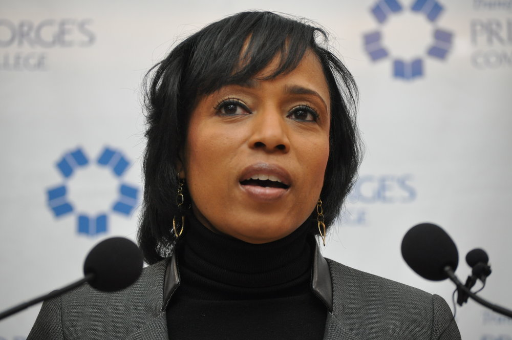 Prince George's County Executive Angela Alsobrooks // PHOTO: RAOUL DENNIS PRINCE GEORGE'S SUITE MAGAZINE & MEDIA