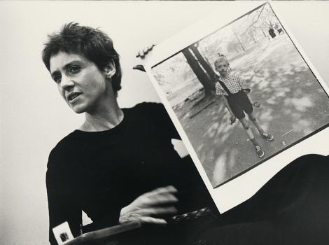 Diane Arbus (detail) by Stephen A. Frank, 1970 Gelatin silver print, National Portrait Gallery, Smithsonian Institution