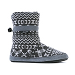 Whitecap Knit Boot Charcoal Snowshoe Sweater