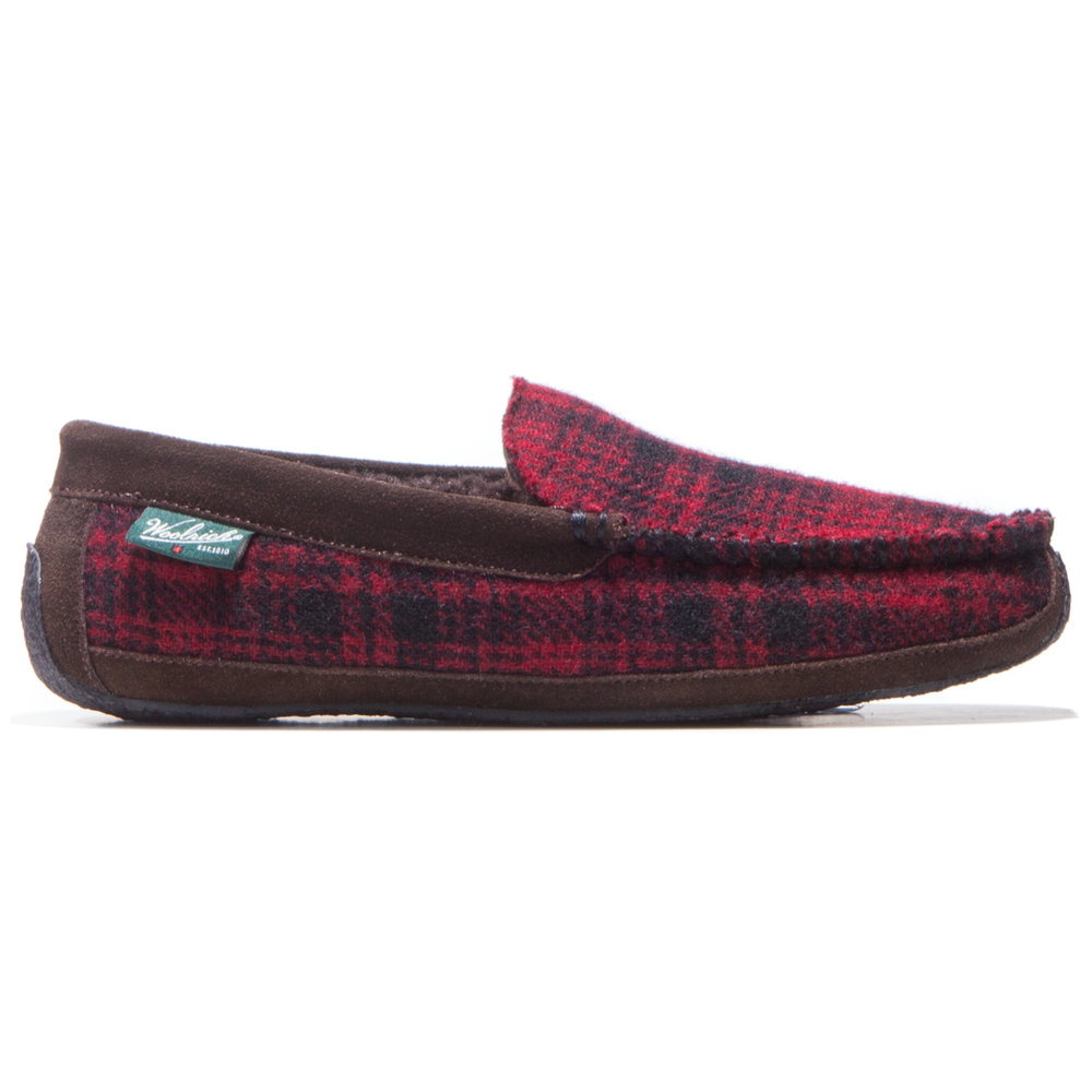 Heff Red Hunting Plaid Wool