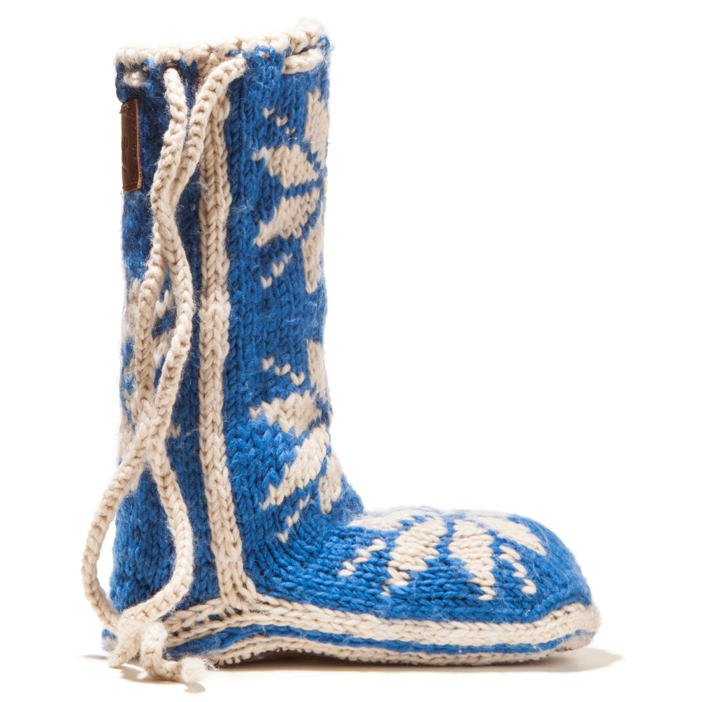 Chalet Sock Ocean Blue