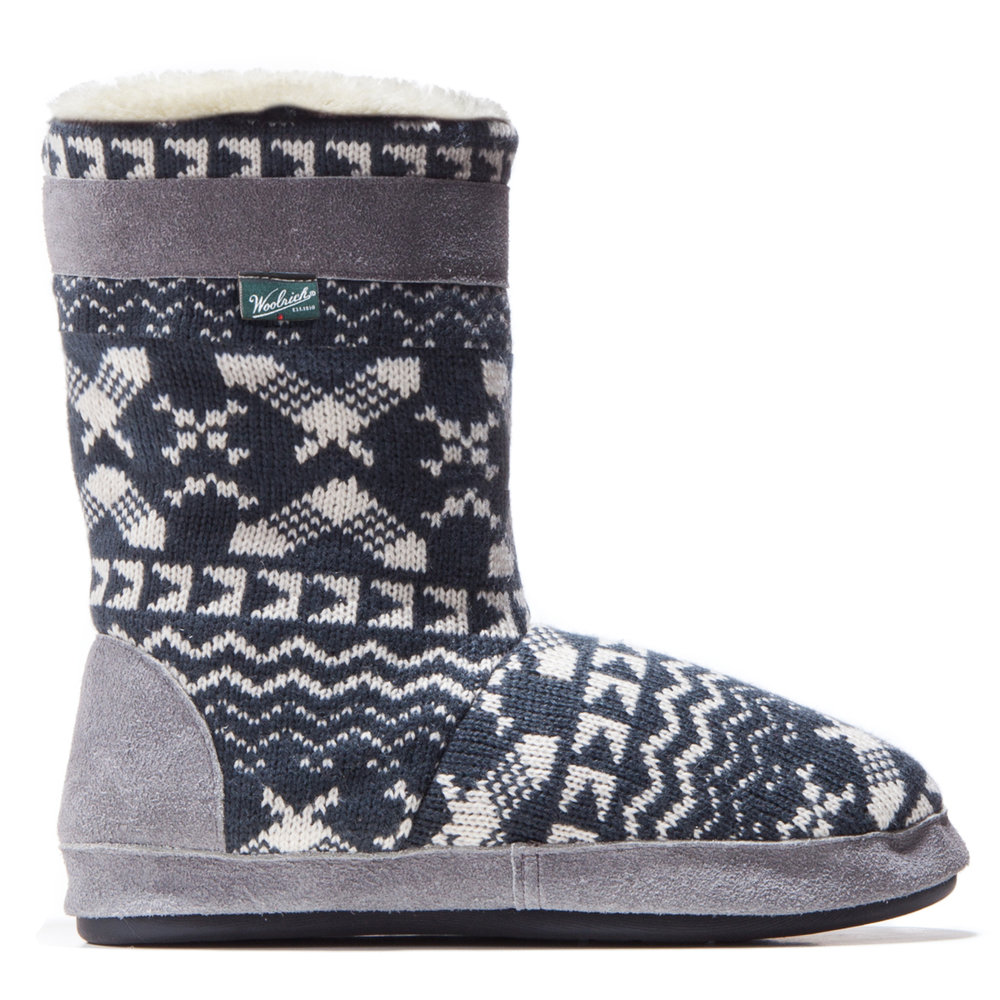 Whitecap Knit Boot Charcoal Snowshoe