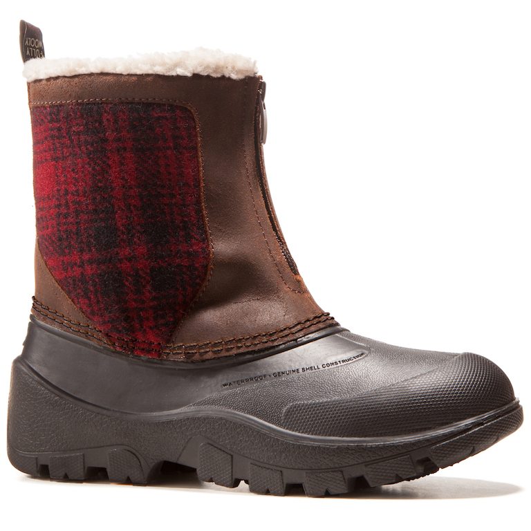 FW Icecat Coconut/Red Hunting Plaid
