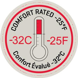 Comfort Rated -32C/-25F Cream