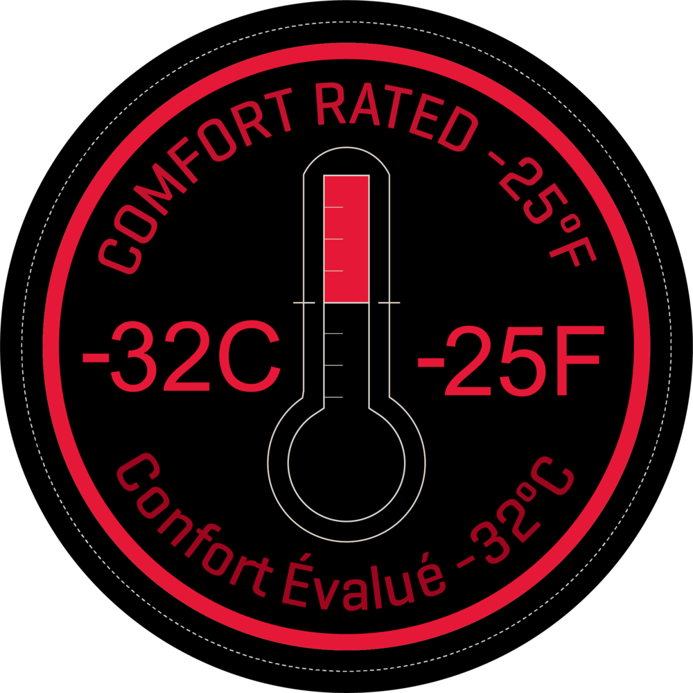 Comfort Rated -32C/-25F