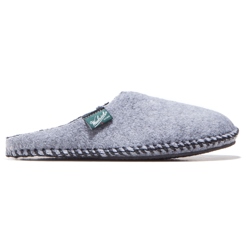 Fleece Mill Scuff Steel Gray