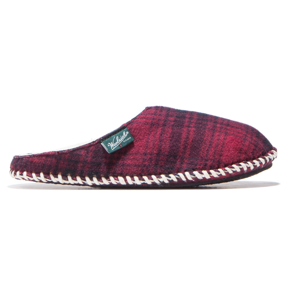 Fleece Mill Scuff Hunting Plaid