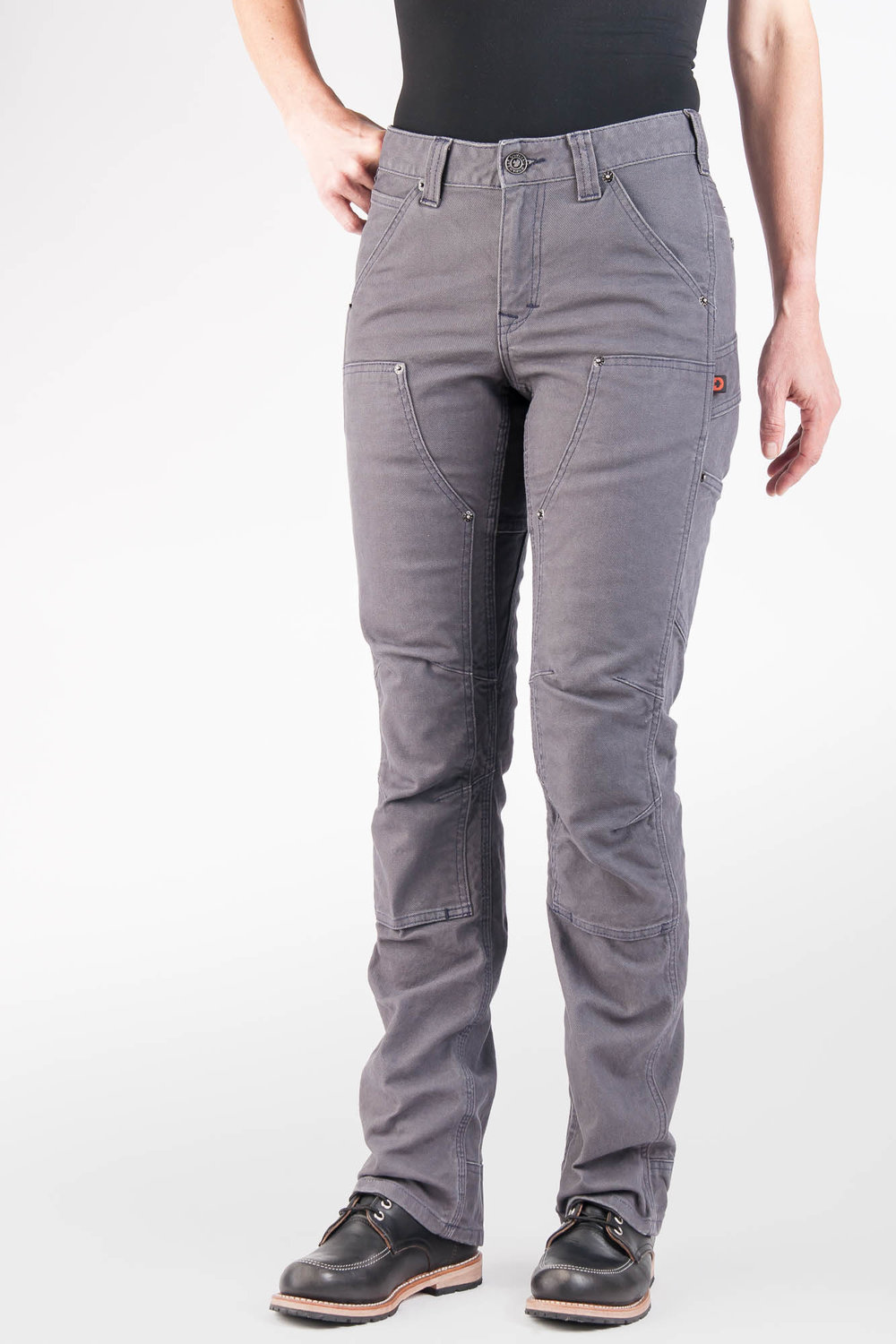 Britt Utility Grey Canvas