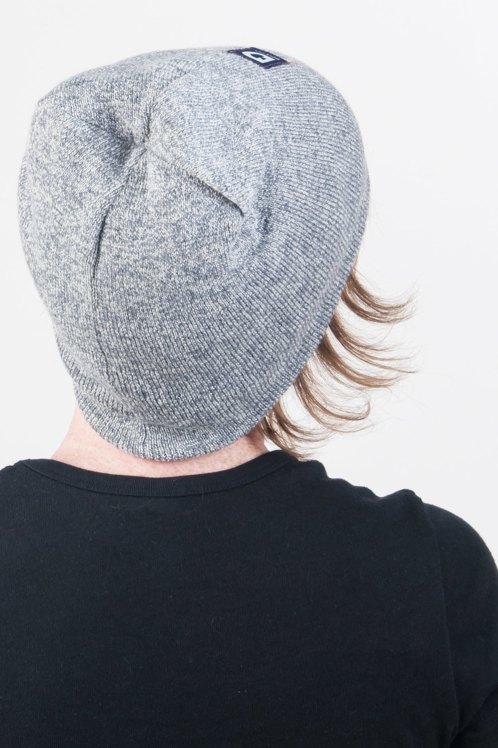 Reversible Work Beanie Grey
