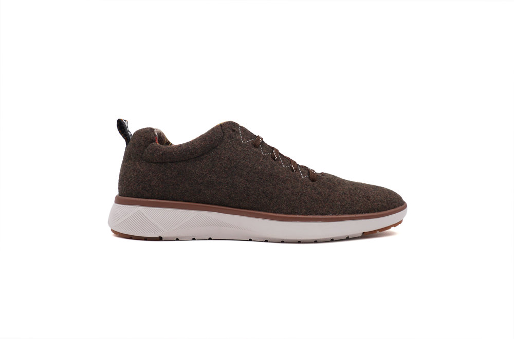 Pendleton Sneaker Brown Heather