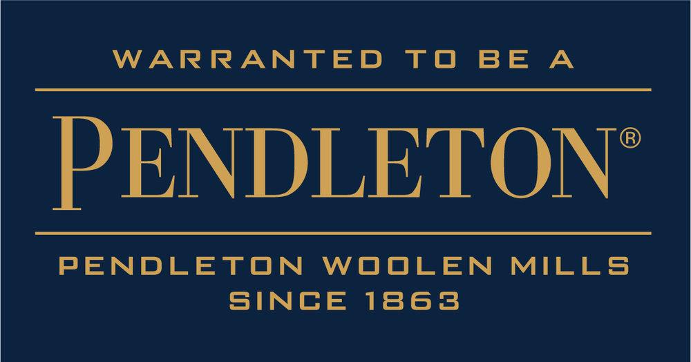 Pendleton Warranted To Be Logo