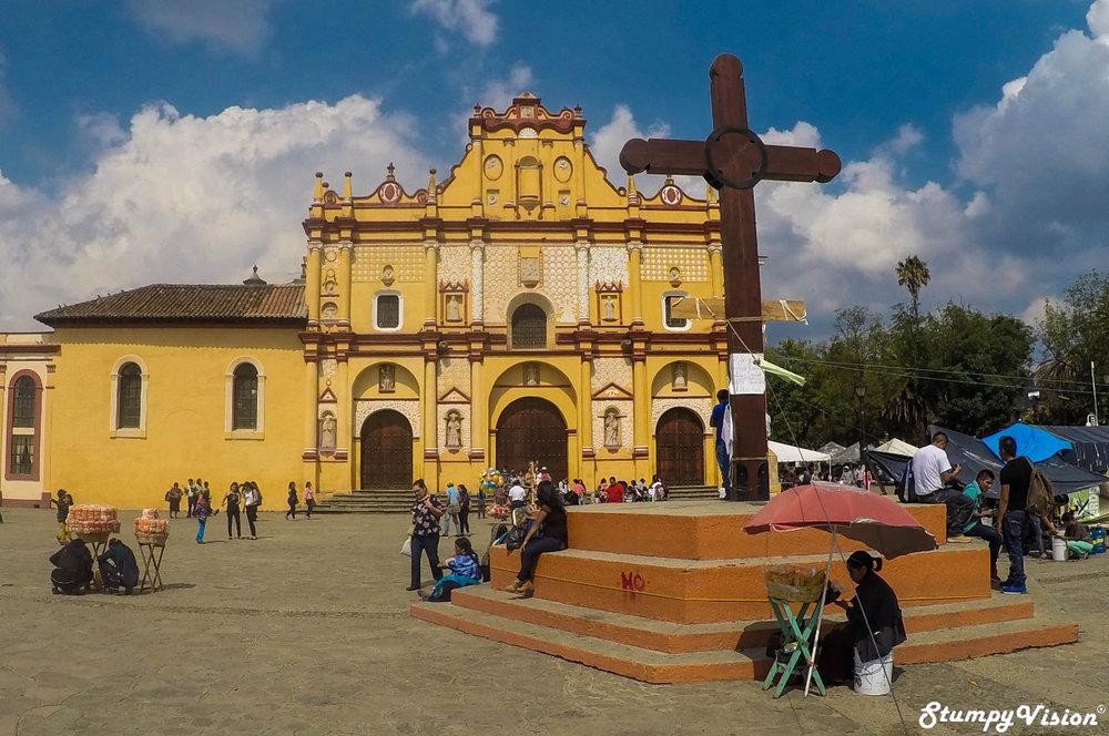San Cristóbal de las Casas Cathedral, Chiapas.