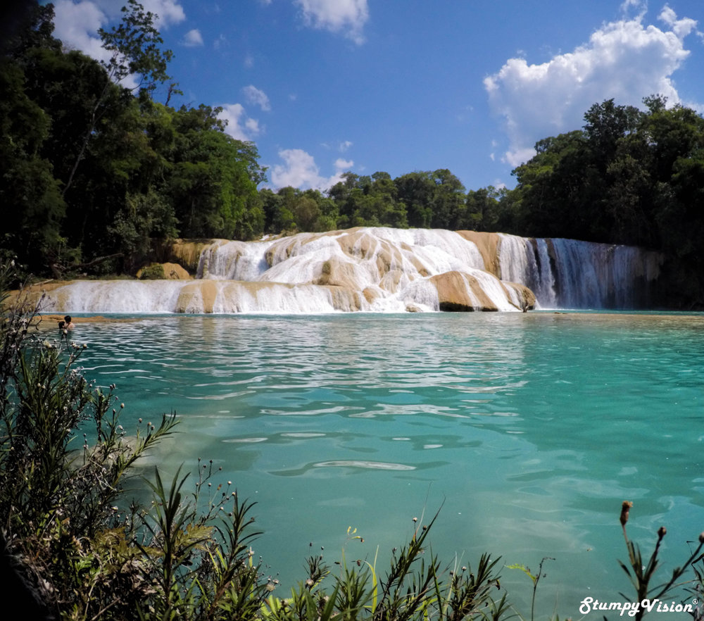 The serenity of Aqua Azul.