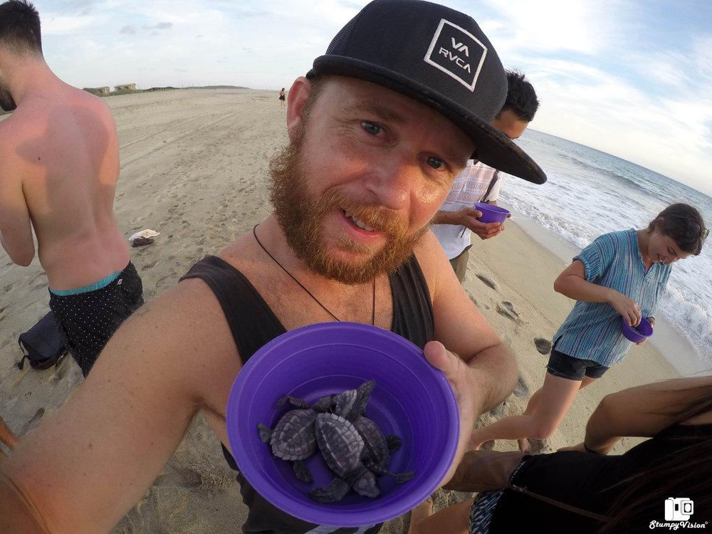 Go save some turtles at La Barra.