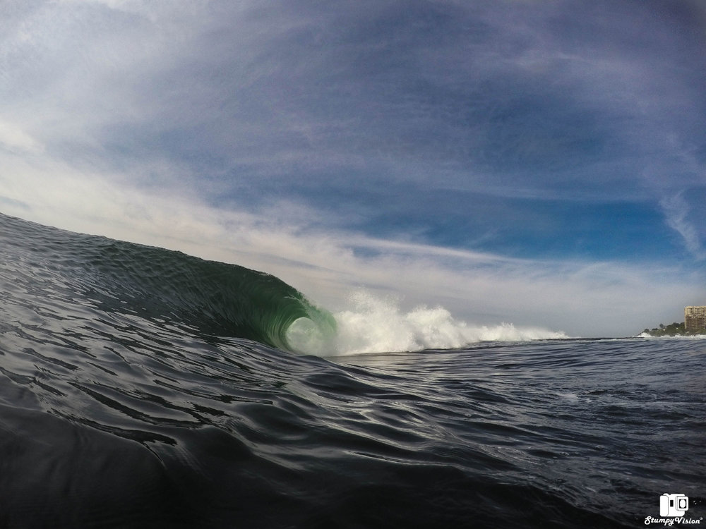 Glassy, well overhead and no one out...what are you waiting for?