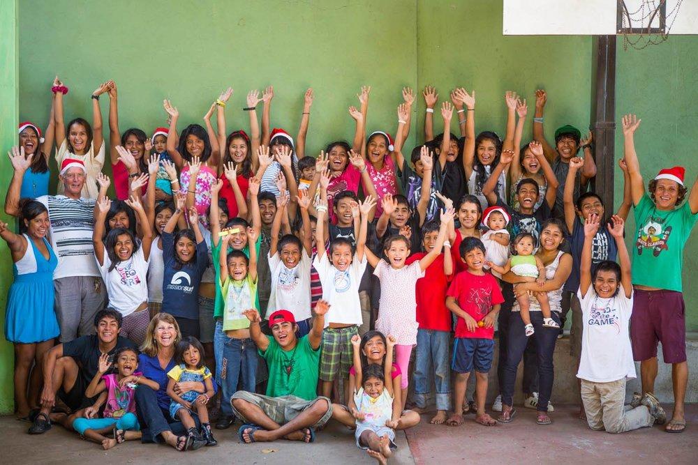 The Misión México family.