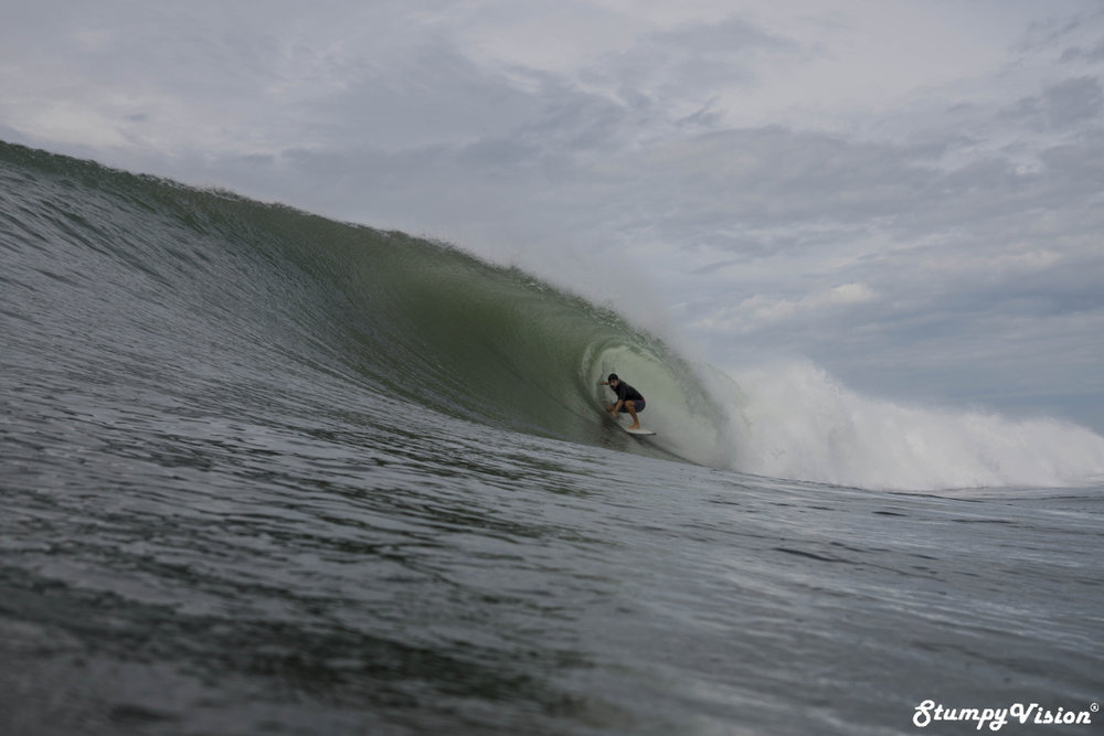 That barrel. I waited a month to nail this shot.
