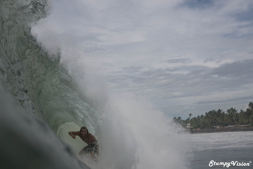 Stevie Pittman in a sneaky one.