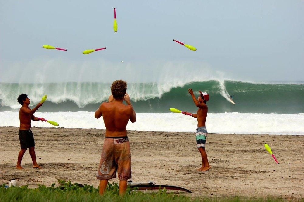 WSL Big Wave Challenge, photo by Simon Neate.