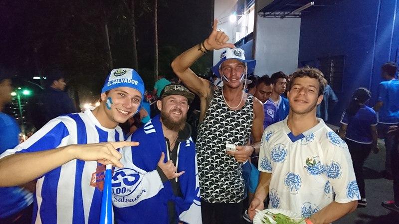 A cultural detour for the El Salvador v Mexico game in San Salvador. Apologies to my Mexican friends.