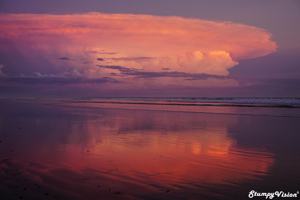 Pink hues. Did I mention that Central America constantly offers up some of the best sunsets I have ever witnessed?