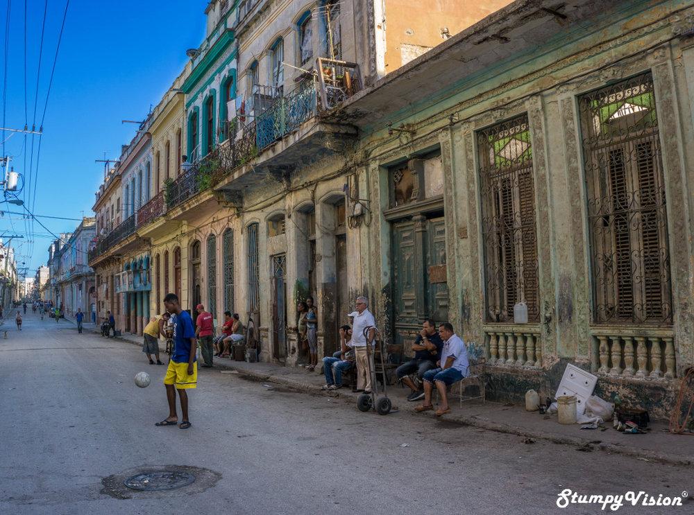 The streets of Habana.