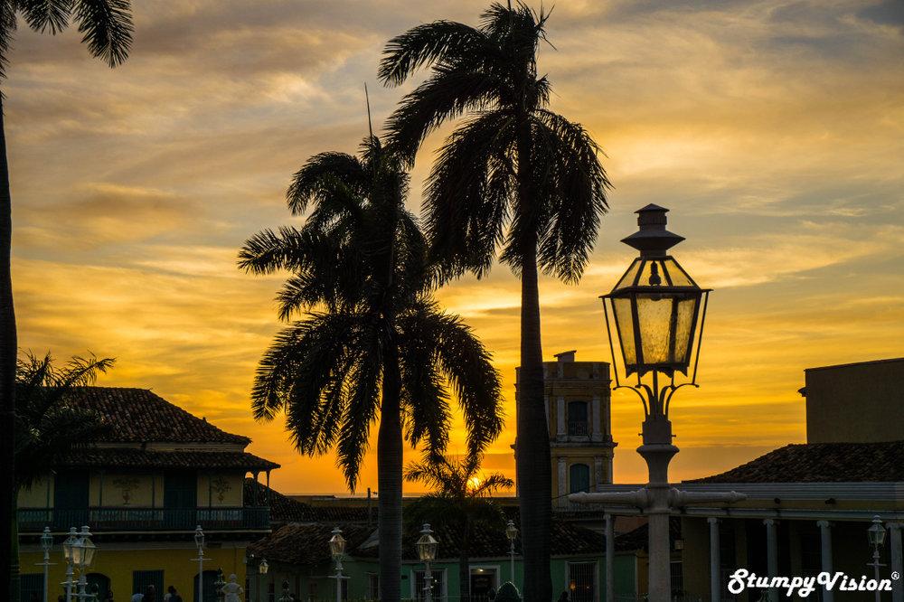 Sundown in Cuba.