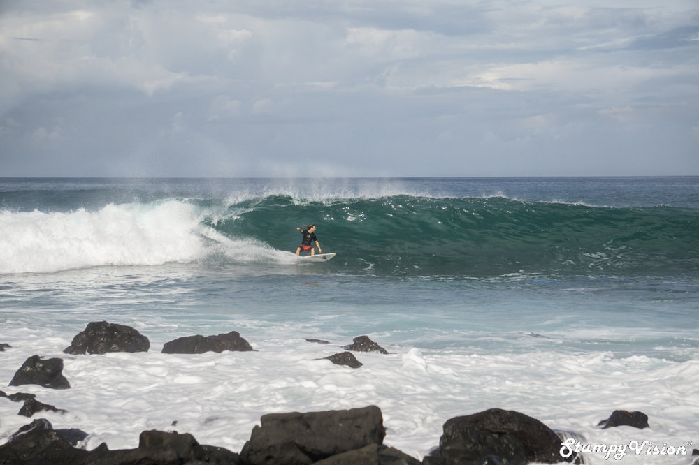 If death slabs arenn't your thing there are plenty of mellow point breaks on offer.