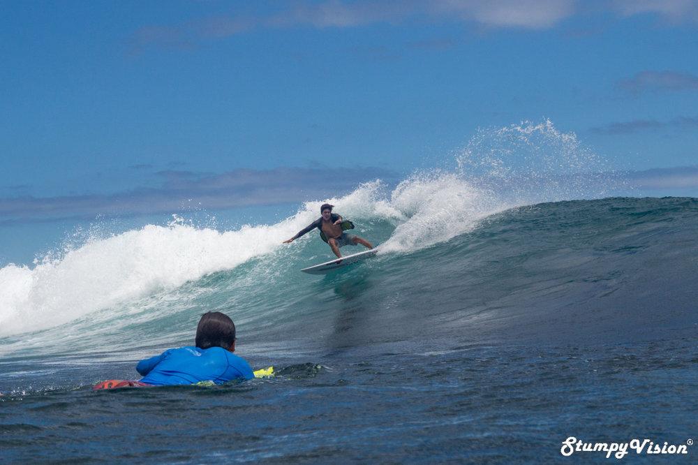 Flair, Juan Pablo Gerrero surf with true flair.