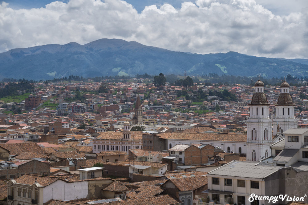 The historical beauty of Cuenca.