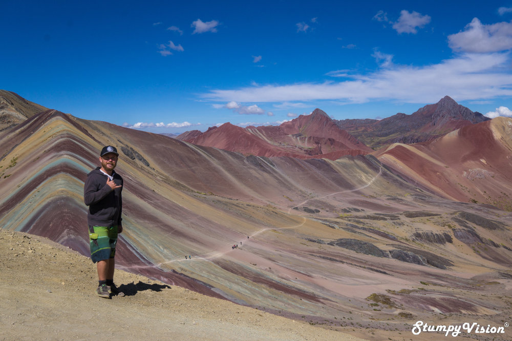 Rainbow Mountain, Peru.