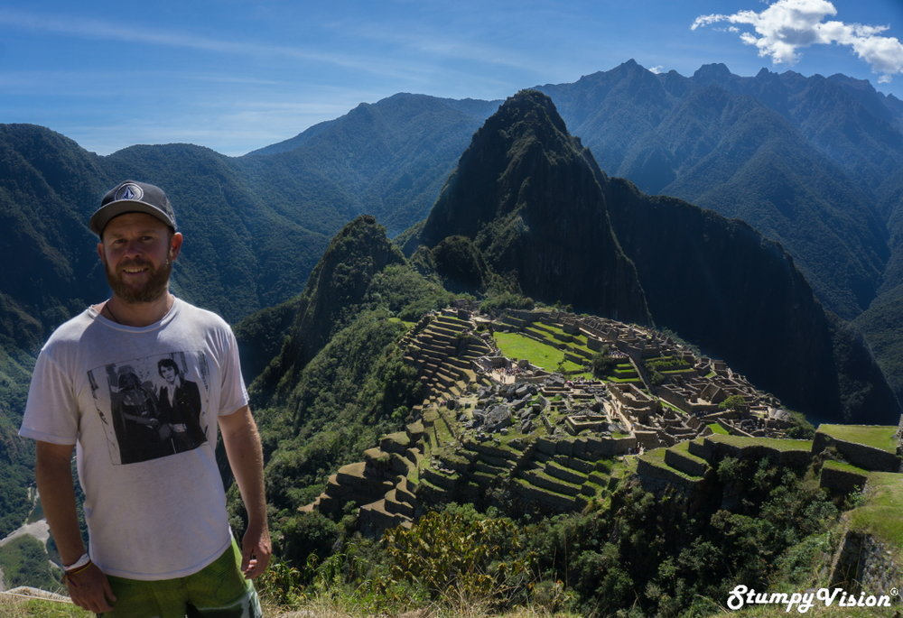 Machu Picchu, well it would be rude not to!