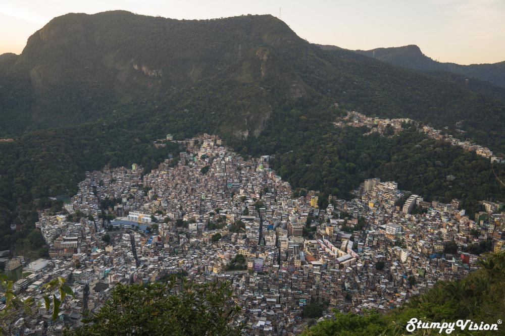 Rocinha from above.