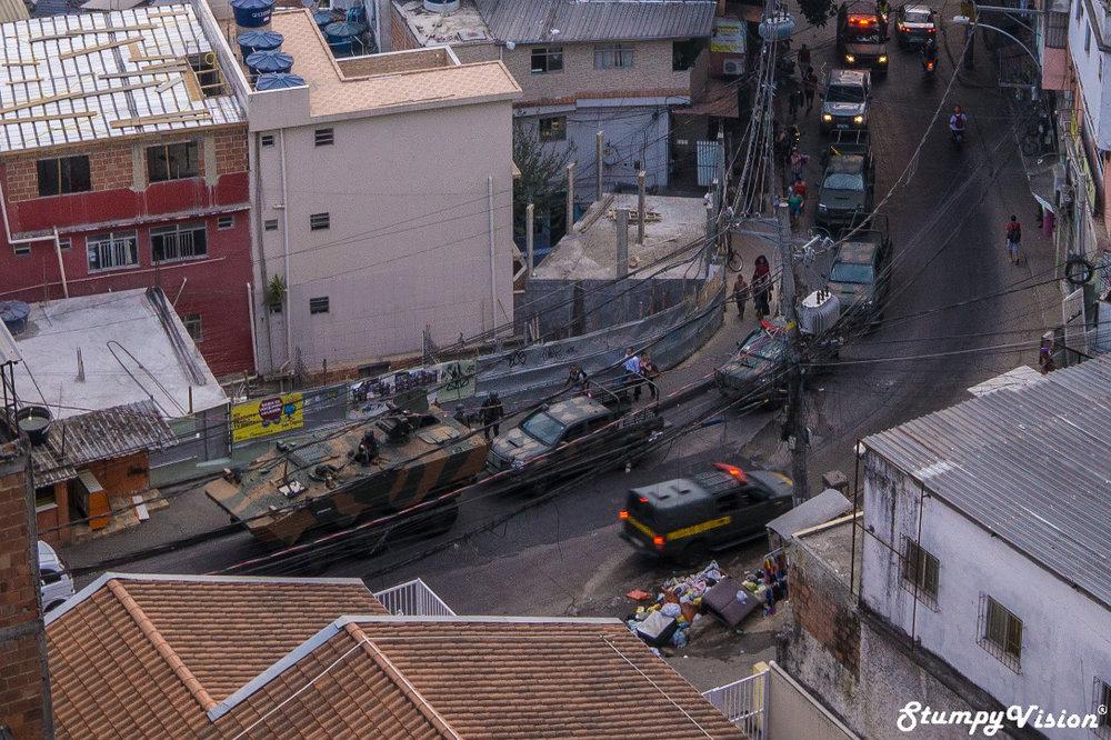 The army enter Rocinha.
