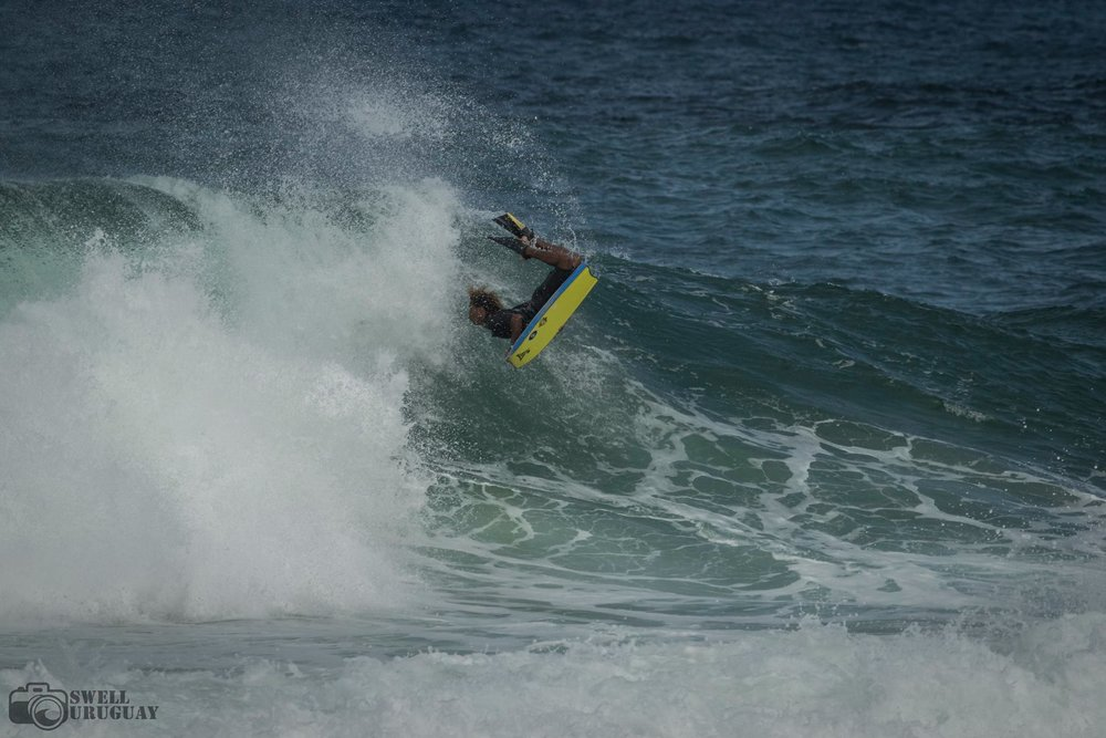 Flipping out in Rio, photo by Juan at  Swell Uruguay .