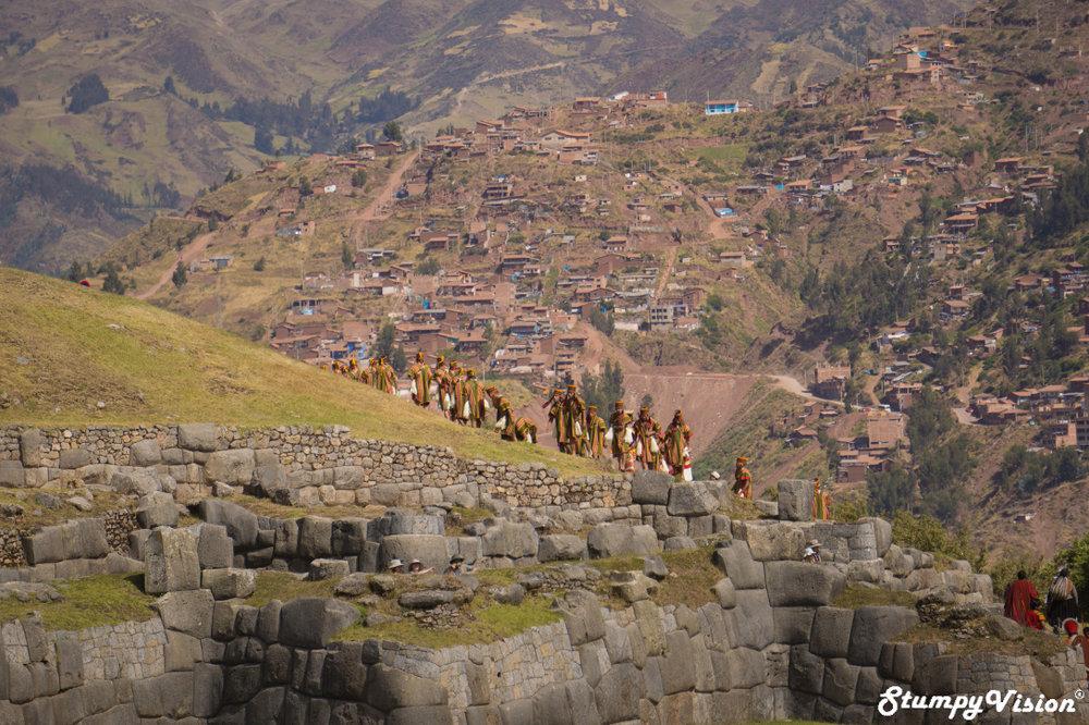 Saksaywaman high above Cusco.