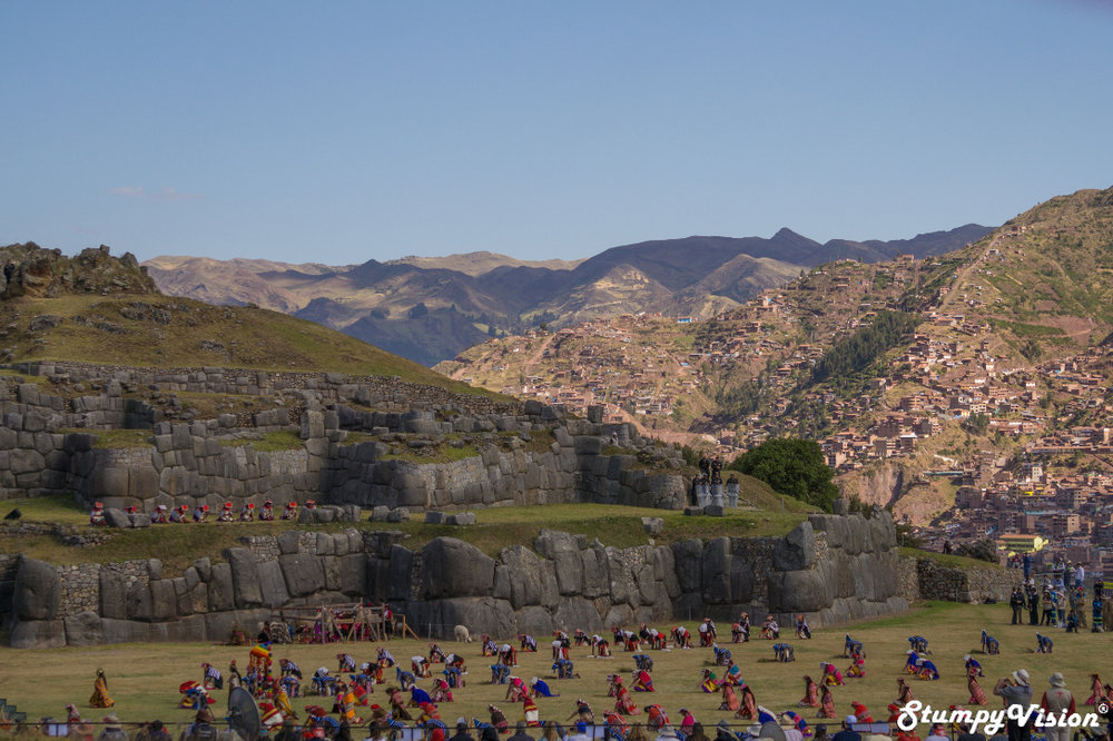 The Inti Raymi Ceremony at Saksaywaman.