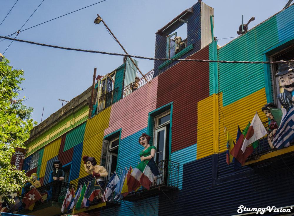 Colourful La Boca.