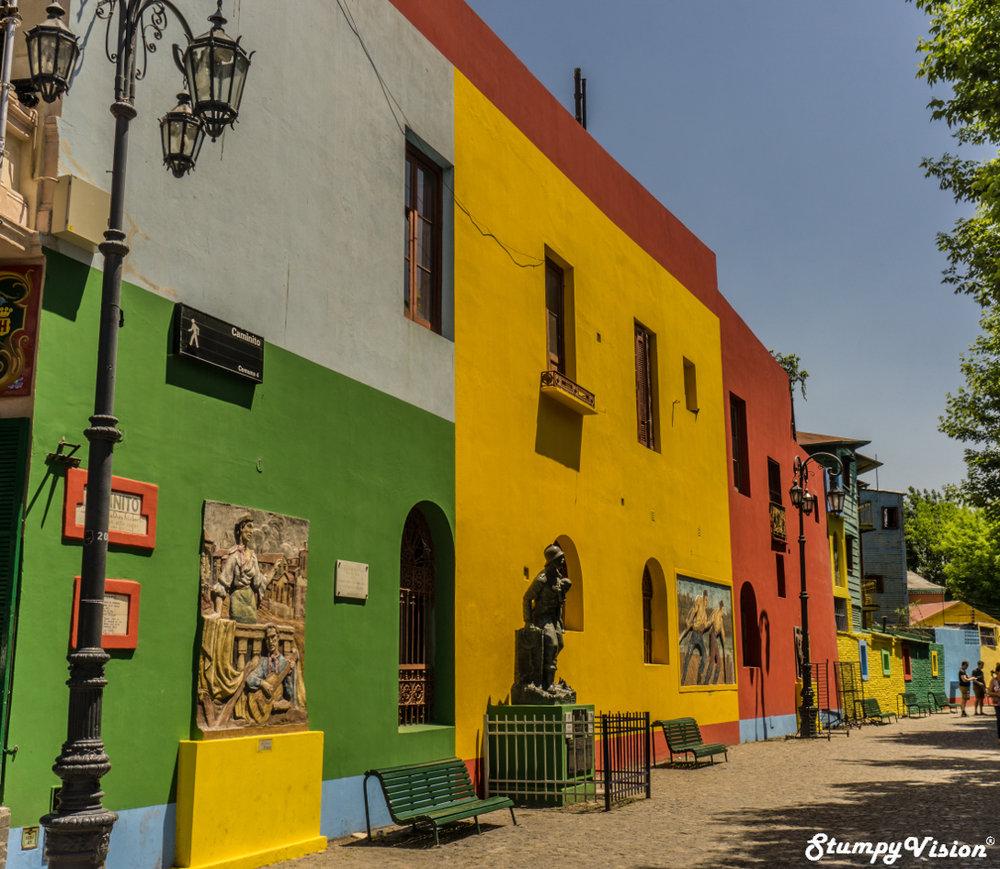Bright and bold La Boca.