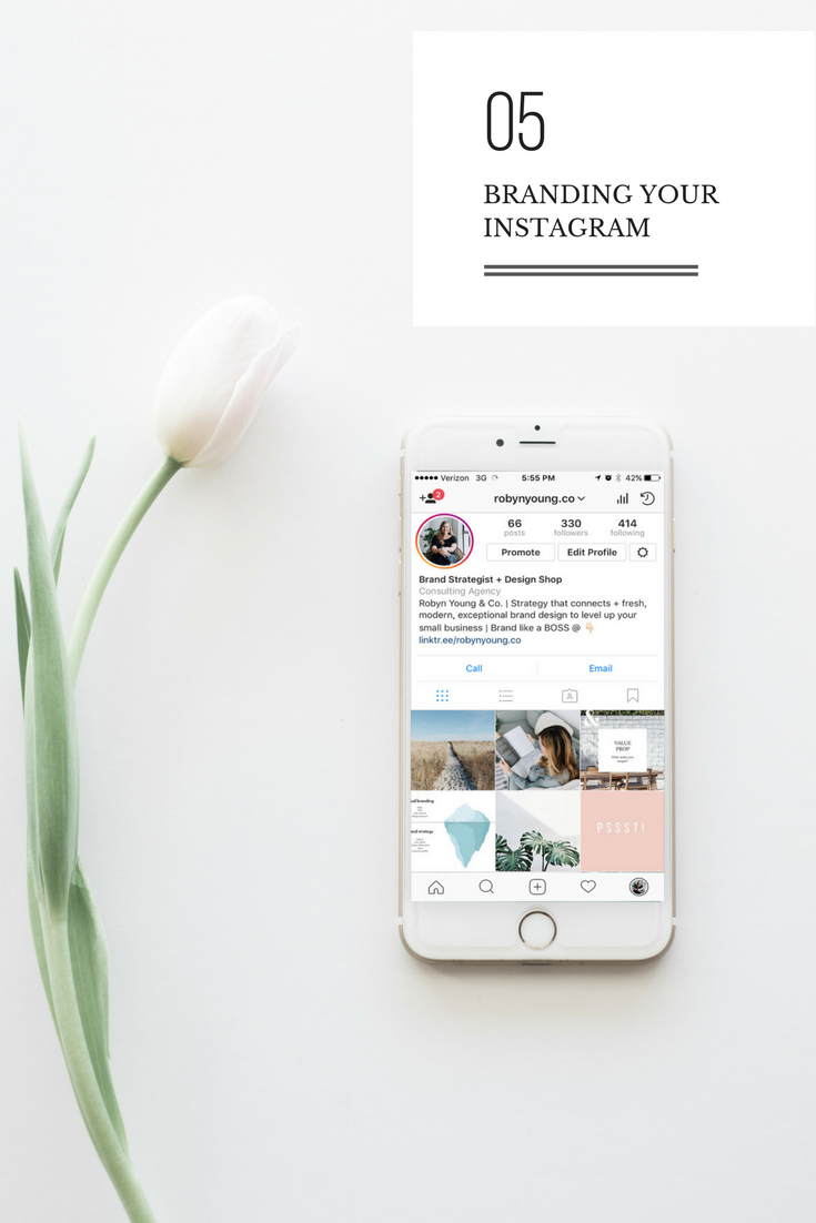 Branding Your Instagram