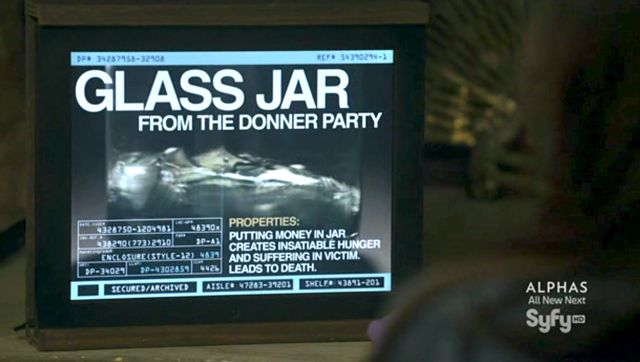 http://warehouse13.wikia.com/wiki/Glass_Jar_from_the_Donner_Party