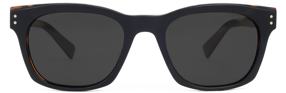Matte Black Navy Tort (Polarized)