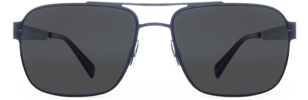 Brushed Blue Steel Polarized