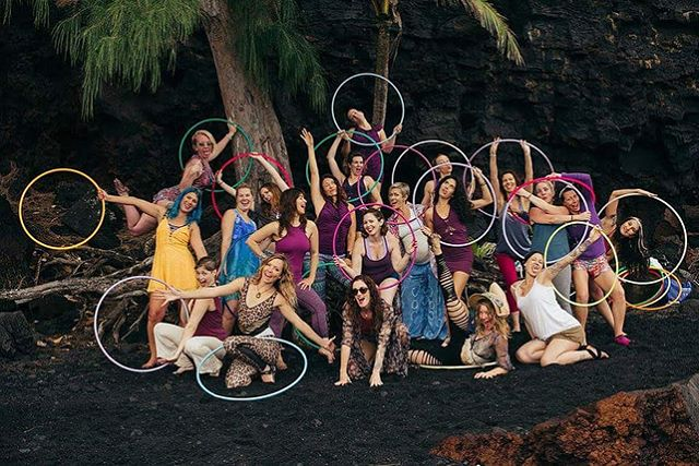 It was an absolute honor and truly one of the most beautiful experiences of my life to produce In-Depth @hawaiihoopretreats  2018. ✨ ✨ Together we moved, we grooved, we flowed, we played, and we danced in the center of our joy in the jungles of the Big Island. ✨ ✨ Through the body play practices of Hoopdance, Ecstatic Dance, and Yoga we came together as a sisterhood to tended to and replenished our joy, cultivate our courage, and ignite inspiration in the soul, to spiral that energy forward towards creative action in our lives and within the world. ✨ ✨ These images taken by the talented Natalie Vaughan of @natvonphoto capture the essence of our joyful time together in a beautiful rainforest of Pahoa, Hawaii. ✨ ✨ A big Mahalo to the In-Depth 2018 Teachers @missmojangles , @rachael_lust , @gailhoopspin , @themarslab , @thehulahoopgirl & @learnhealcreate . ✨ ✨ With play on the decline, I believe that play is an essential part of human development and well-being that cultivates courage, nurtures the imagination, and promotes psychological, physical, and emotional balance to improve quality of life. ✨ ✨ Super excited for what is to come for In-Depth Hawaii Hoopdance Retreat 2019! ✨ ✨ To find out more about In-Depth Hawaii Hoop Retreat checkout www.TheHulaHoopGirl.com ✨ ✨ Stay tuned for In-Depth Hawaii Hoop Retreat 2019... ✨ ✨ Soulfully, Caroline Pauline Cárdenas of @thehulahoopgirl ✨ ✨ #TheHulaHoopGirl #DanceInTheCenterOfYourJoy #HawaiiHoopDance #HawaiiHoopDance2018 #InDepthHawaiiHoopDanceRetreat #JoyAdvocate  #SelfCareThroughBodyPlay #Joy #JoyReplenishment #BigIsland #Mahalo #Aloha #hoopersofinstagram #HulaHoop #Hooping #HulaHoops #Flow #BodyPlay #HawaiiHoopDance #Hoopdancers #Hoopdancing