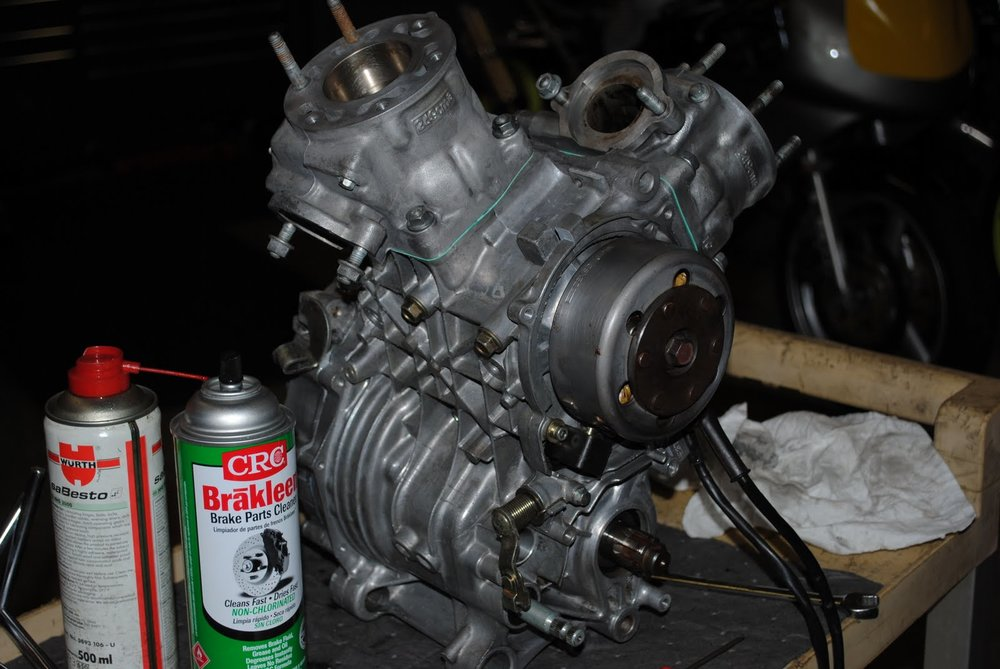 NSR250 Red Engine.JPG