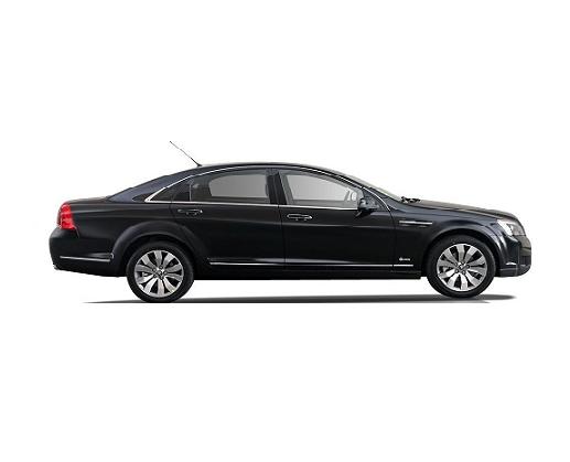 Sedan - Holden CapriceRecommended: 3 x Passengers,2 x LuggageCapacity: 4 x Passengers, 2 x LuggageOverflow vehicles - Genesis, Chrysler 300C or similar